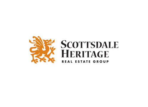 Logo for a real estate company in Phoenix Arizona specializing in historical homes